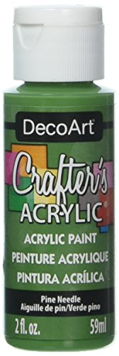 - DecoArt DCA86-3 Crafter's Acrylic Paint, 2-Ounce, Pine Needle