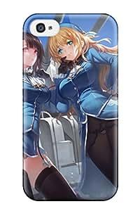 Gundam Protective Case's Shop 2104448K709925539 amerumiro animal ears Anime Pop Culture Hard Plastic iPhone 4/4s cases