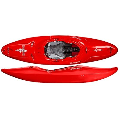 Dagger Mamba Versatile Whitewater Kayak, Red, 8.6 by Dagger