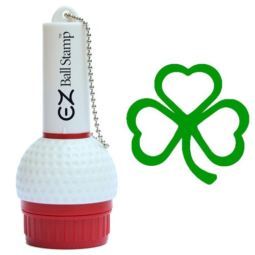 ProMarking EZBallStamp Golf Ball Stamp Marker (Green Shamrock)