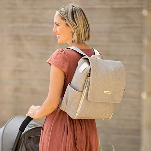 Petunia Pickle Bottom Boxy Backpack, Grey Matte Leatherette by Petunia Pickle Bottom (Image #6)