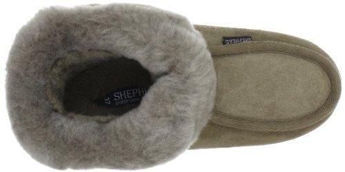 Estar Casa Mujer Zapatillas stone De Marrón Moa Por 25 Shepherd Para qXt0xx