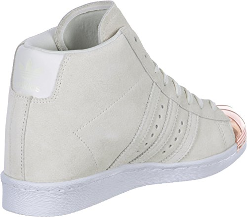 Toe W Adidas Metal Bianco Up Superstar Scarpe RR1xSZ