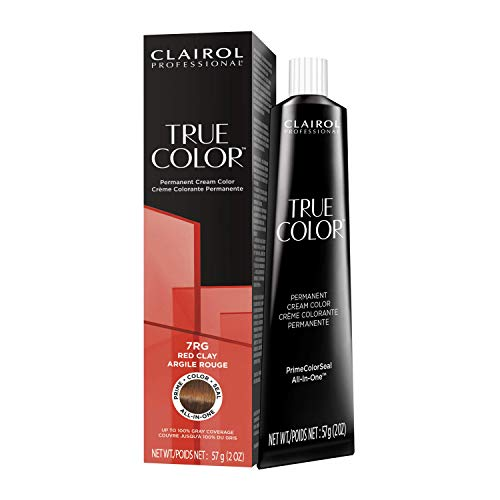 Clairol Professional TRUE COLOR Permanent Cream Hair Color for GLOSSING and TONING with 100% Gray Coverage