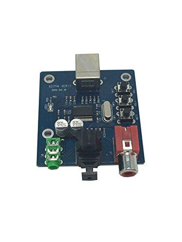 Phantom YoYo PCM2704 USB DAC USB Power Fiber Optic Coaxial Analog Output sz-11 Raspberry Windows 7 Pi Need No Driver ()