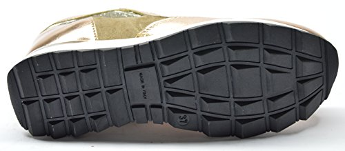 drudd - Zapatos de cordones para mujer Platino
