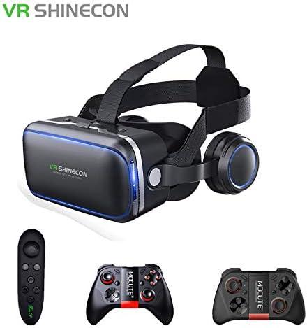 KAR VR Realidad Virtual Gafas De 3 D, 3D Gafas Headset Casco para ...
