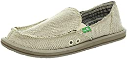 Women's Donna Hemp Flat (35-36 M EU / 5 B(M) US Natural)