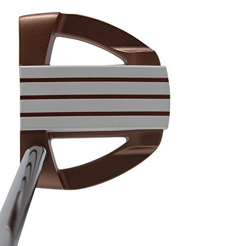 Bionik 701 Copper Golf Putter Right Handed Mallet Style with Alignment Line Up Hand Tool 33 Inches Senior Women's Perfect for Lining up Your Putts ()