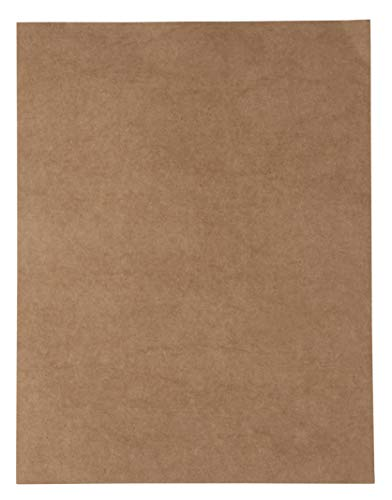Kraft Letter - Kraft Cardstock - 96-Pack Letter Sized Stationery Paper, Printable 175GSM 65lb Cover Cardstock, Perfect for Menus, Documents, Invitations, Arts, Crafts, Office Use, 8.5 x 11 Inches