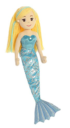 Aurora World Sea Sparkles Mermaid Plush, Chelsea - Chelsea Plush