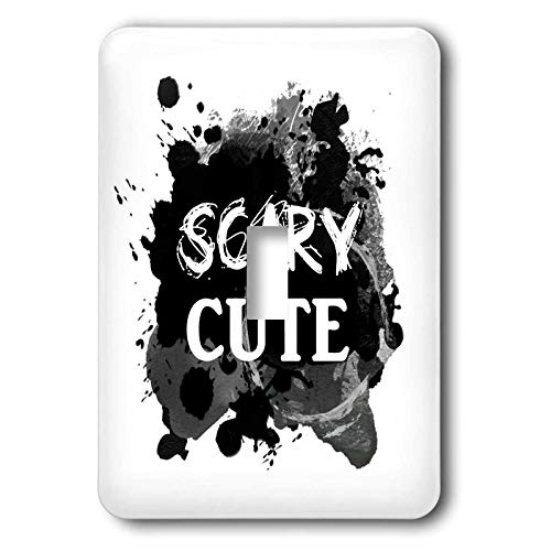 3dRose InspirationzStore - Occasions - Scary Cute - Funny Halloween Humor - humorous So sweet its Spooky - double toggle switch (lsp_317322_2)]()