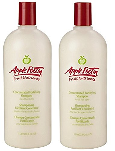 Apple Pectin Fortifying Shampoo Concentrate, 33.79 Ounce (2-pack)