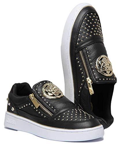 Lacets Sans Guess Fl5beelea12 Noir Sneakers Femme Chaussures qwFwB4RIaW
