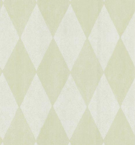 Large Harlequin Wallpaper - Brewster 141-62136 Harlequin Wallpaper, Light Green