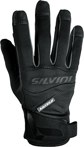 Softshell Gloves for Cycling & Mountain Bike FUSARO - Novelty By SILVINI / Black XL (Spring Soft Shell Glove)