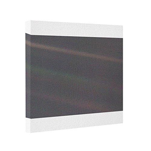(Vlacom Abstract Art Canvas Print Photos On Canvas Solar System Portrait - Earth as 'Pale Blue Dot')