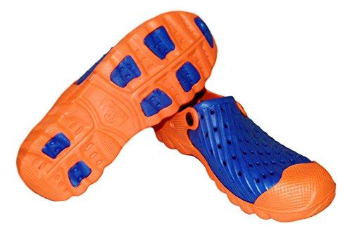 Tone 2 Shoes Blue Clog Mens Orange Water Sneaker BEACH 101 qtERw