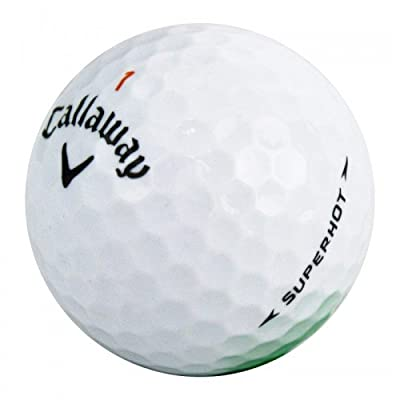 Callaway Superhot Mint Recycled Golf Balls (24 Pack) by Golf Balls Only