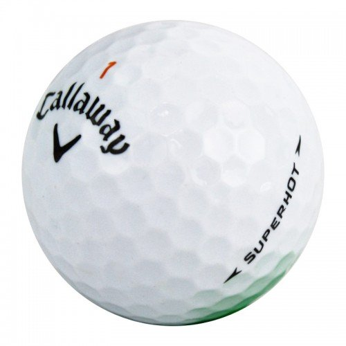 Callaway Superhot Mint Recycled Golf Balls (24 Pack) by Callaway