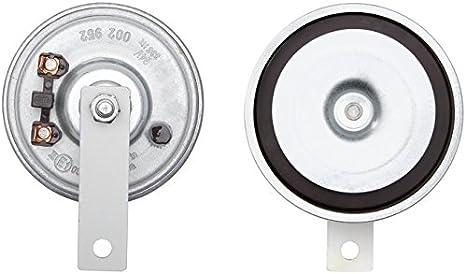 HELLA 3AL 002 952-871 Bocina, 115dB(A), Color de carcasa gris