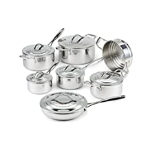 Lagostina 13pc Stainless Steel Cookware Set