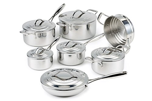 Amazon #DealOfTheDay: Lagostina 13pc Stainless Steel Cookware Set
