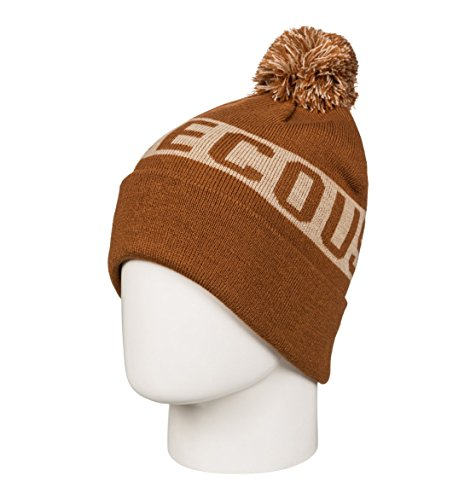 BROWN pompón con Gorro para LEATHER Hombre DC Shoes Chester f8q761