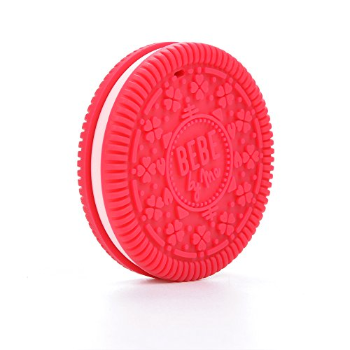 BEBE Raspberry Silicone Cookie Teether product image