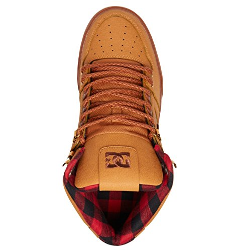 High para Spartan Choco Wheat deporte Wc Dk Black Zapatillas hombre DC de Shoes wEz75qw40