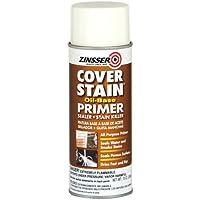 Rust-Oleum 03608 Zinsser Spray Primer Sealer Cover Stain, 13-Ounce, White by Rust-Oleum