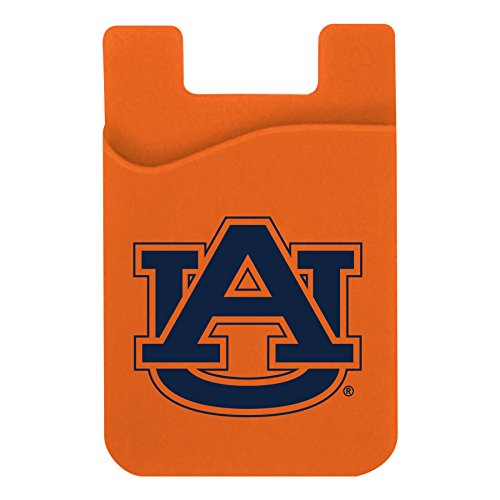 Neil Varsity Auburn Tigers Cell Phone Card Holder -navy on orange by Neil Varsity