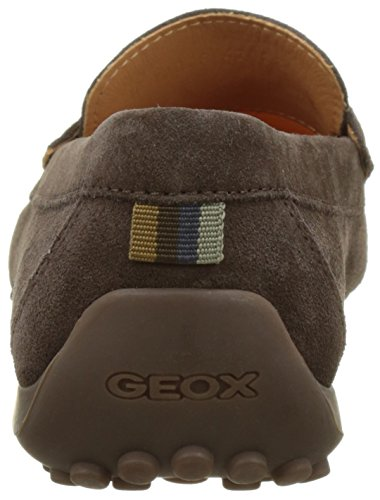 Geox Mens M Orm Moc 14 Båt Sko Choklad