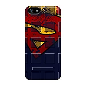 Iphone 5/5s Cover Case - Eco-friendly Packaging(superman Shelf)