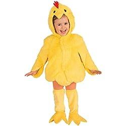 Forum Novelties Plush Cuddlee Lovable Chicken Costume, Toddler Size