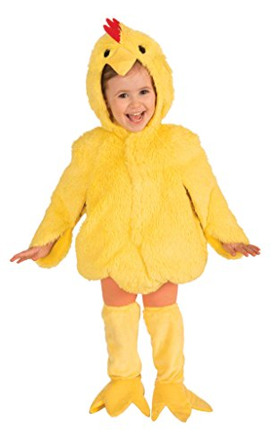 Cute Girls Group Costumes (Forum Novelties Plush Cuddlee Lovable Chicken Costume, Toddler Size)