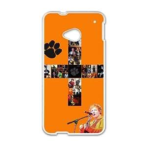 HTC One M7 Cell Phone Case White Ed Sheeran rww
