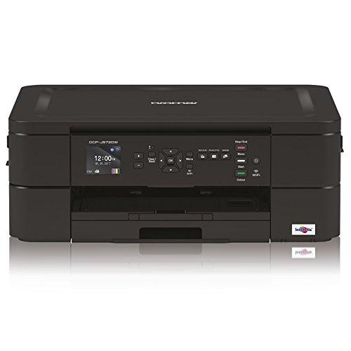 Brother dcpj572dw Impresora multifunció n Inyecció n de Tinta de Colores A4 con conectividad inalá mbrica y Pantalla LCD DE 4.5 cm 6000 X 1200 dpi, Negro