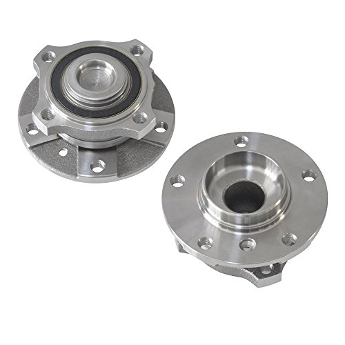 DRIVESTAR 513210x2 NEW Front Driver and Passenger Wheel Hubs & Bearings Pair for BMW ()