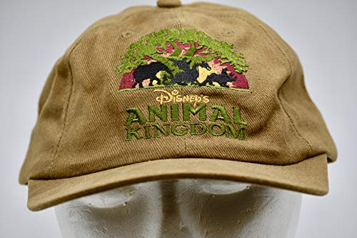 1998 - Disney's Animal Kingdom - Grand Opening Celebration - Embroidered Cap - Adjustable - Collectible - Rare