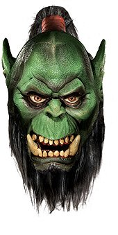 World Of Warcraft Deluxe Latex Mask, Orc
