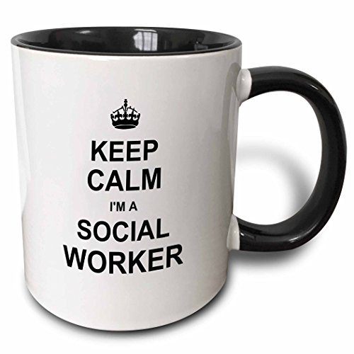 3dRose Keep Calm Social Worker product image