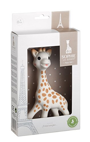 Vulli Sophie The Giraffe New Box, Polka Dots (Sophie Giraffe)