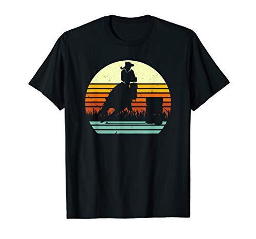 Barrel Racing Retro Style T-Shirt