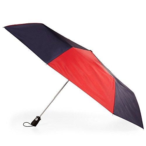 "Totes Family Jumbo Folding Auto Open Auto Close Umbrella 55"""