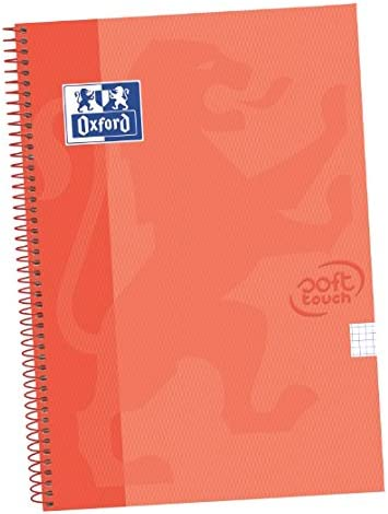 Oxford Touch - Pack de 5 cuadernos espiral, tapa extradura, color ...