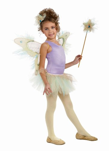 [Rubie's Costume Co Water Fairy Wings Kit, Multi-Colored, One Size] (Sequin Tinker Bell Adult Costumes)