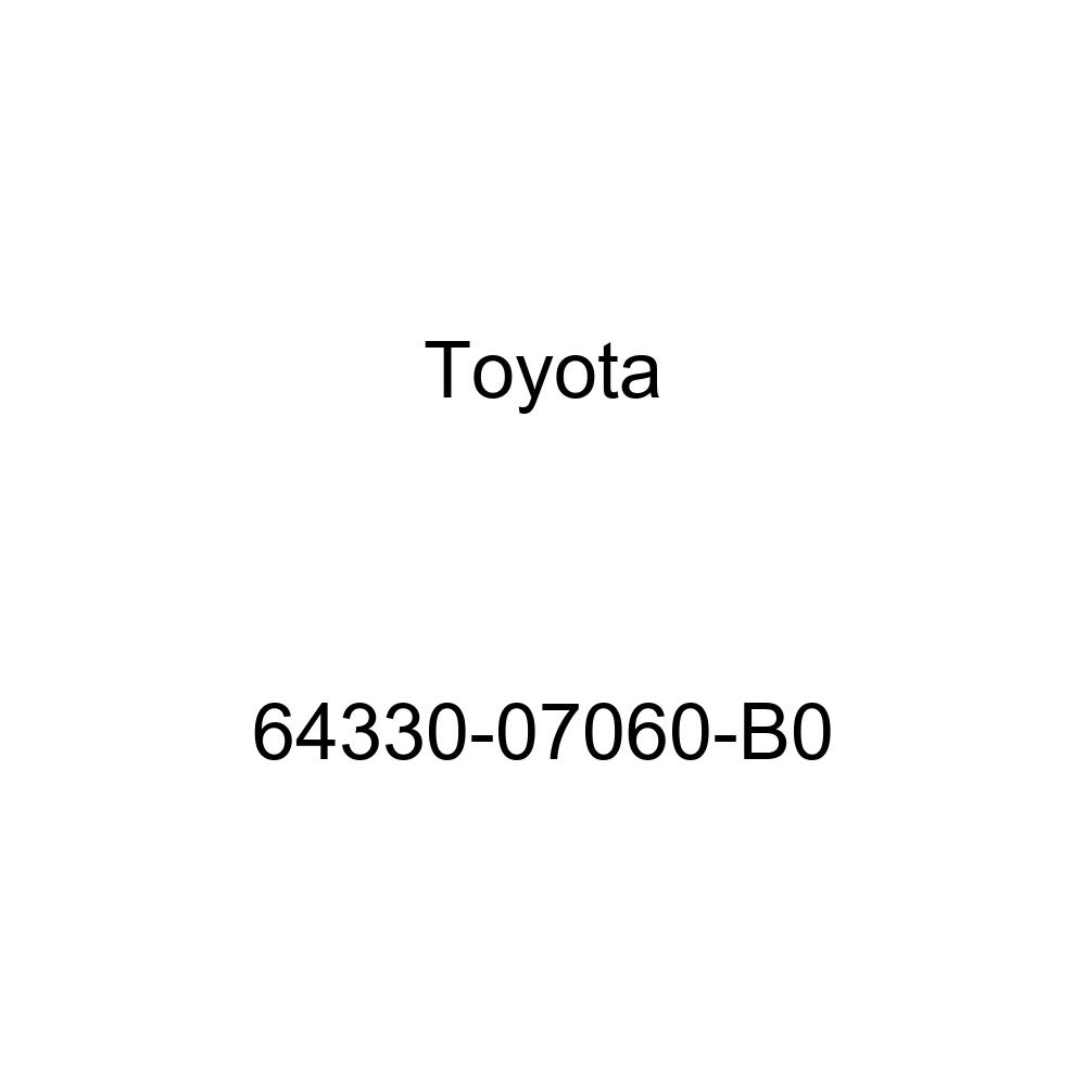 TOYOTA 64330-07060-B0 Package Tray Trim Board