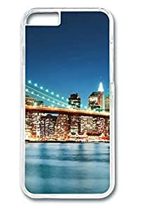 Brian114 City New York 24 Phone Case for the iPhone 6 Plus Clear
