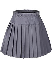 Amazon.com: Grey - Skirts, Scooters & Skorts / Clothing: Clothing ...